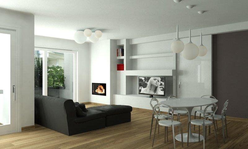 Piuservizi 3d realizzazione modelli tridimensionali for Interni arredati